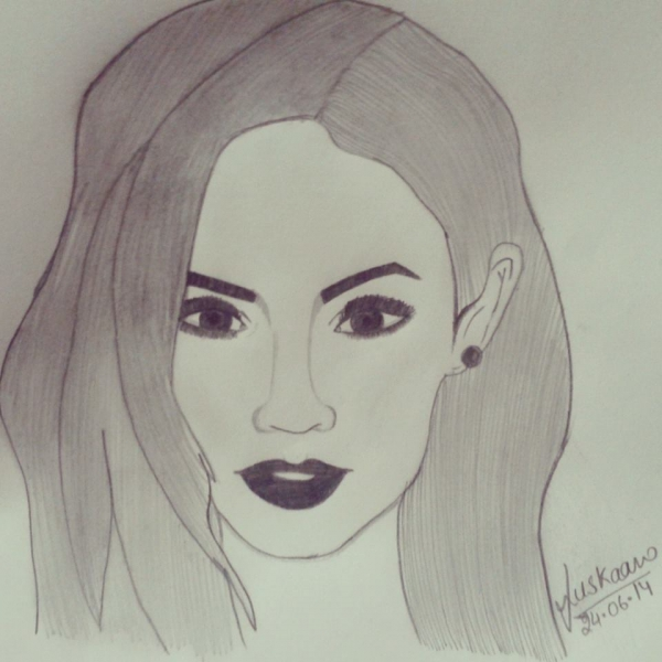 Megan Fox by Muskaan
